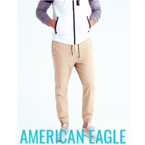 NWT American Eagle Ne(x)t Level khaki jogger